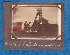 Photo Ancienne - GRAFFENWALD ( Wittelsheim ) - Une Mine De Potasse - Aout 1922 - Haut Rhin Alsace Puits - Plaatsen