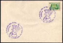 CUBA HAVANA 1966 - CHESS OLYMPIAD - PHILATELIC EXHIBITION - CLOSING DAY - Scacchi