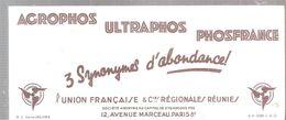 Buvard AGROPHOS ULTRAPHOS PHOSFRANCE 3 Synonymes D'abondance! - Agriculture