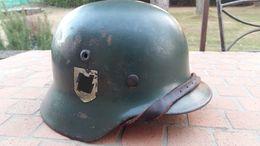 Casque Allemand XX WW2 / German Helmet Elite - Headpieces, Headdresses