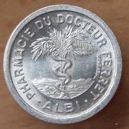 25 Centimes Pharmacie Docteur Ferret ALBI (81) - Monétaires / De Nécessité