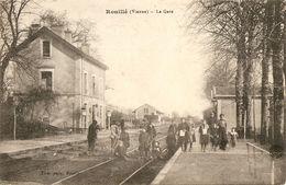 Cpa Rouillé La Gare - Altri Comuni