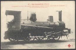 Les Locomotive France - Machine Type 121 (n°542) De La Cie D'Orléans (PO) Coll. FF N°27 - See 2 Scans - Zubehör