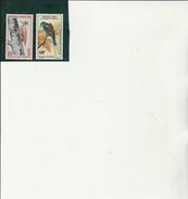 HAUTE VOLTA - POSTE AERIENNE N° 18 + N° 20 NEUF -INFIME CHARNIERE - ANNEE 1965 -COTE : 35,50 € - Haute-Volta (1958-1984)