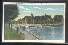 Canada. QC - Montreal. *Rustic Bridge And Lagoon, Parc Lafontaine...* Nueva. - Montreal