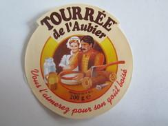 Étiquettes Étiquette De Fromage Tourrée De L'aubier - Kaas