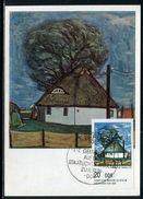 Allemagne - Carte Maximum 1975 - Oeuvre De Harald Hakenbeck - [6] République Démocratique