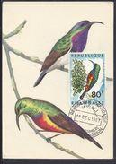 """RWANDA - Carte Maximum Premier Jour """"Souimanga Royal"""" Cachet Du 18 Décembre 1967 - - 1962-69: FDC"""