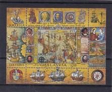 Europa Cept, Jugoslawien Bl. 41, Gest. Mi 15,- Euro (K 156) - 1992