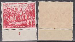 Mao Zedong Chinesischer Staatsmann, DDR 287 ** Landvermessung, Randstück - [6] Oost-Duitsland