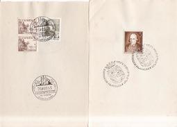 Año 1954-64  Edifil Varios Y Conmemorativos Exposiciones Filatelicas De Gracia, Murcia, Hostafranchs, Moya - 1951-60 Briefe U. Dokumente