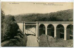 76 MOULINEAUX ++ La Voie Ferrée. Le Viaduc Et La Forêt ++ - Other Municipalities