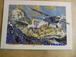 AIR FRANCE   CARTE CLUB CARTOPHILE  D AIR FRANCE - 1946-....: Moderne