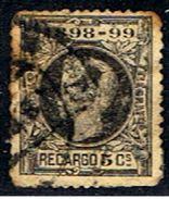 5E 817 //  EDIFIL 240 (Y&T TIMBRE DE GUERRE 27)) // 1898 - 1889-1931 Royaume: Alphonse XIII