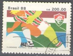 Brazil Used 1988 Brazilian Football Gold Cup Winners Soccer - Brazil