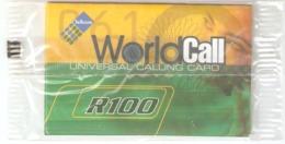 South Africa-World Call Prepaid Card R100,mint - Zuid-Afrika
