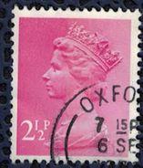Royaume Uni 1981 Oblitéré Used Queen Elizabeth II Machin Décimal Rouge Brunâtre SU - 1952-.... (Elisabeth II.)