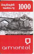 ARMENIA - Bridge On Kasakh River(1664)/Armenia, ArmenTel Prepaid Card 1000 AMD, Sample - Armenia