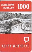 ARMENIA - Bridge Of Sanahin(XII C.)/Armenia, ArmenTel Prepaid Card 1000 AMD, Sample - Arménie