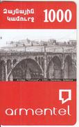 "ARMENIA - Bridge ""Victory""(1945)/Yerevan-Armenia, ArmenTel Prepaid Card 1000 AMD, Sample - Armenia"