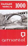 ARMENIA - Kievyan Bridge(1956)/Yerevan-Armenia, ArmenTel Prepaid Card 1000 AMD, Sample - Armenia