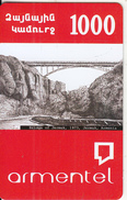 ARMENIA - Bridge Of Jermuk(1973)/Jermuk-Armenia, ArmenTel Prepaid Card 1000 AMD, Sample - Armenië