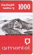 ARMENIA - Bridge Of Arpa River(XVII C.)/Armenia, ArmenTel Prepaid Card 1000 AMD, Sample - Armenië