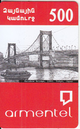ARMENIA - Rainbow Bridge(1993)/Tokyo-Japan, ArmenTel Prepaid Card 500 AMD, Sample - Armenia