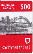 ARMENIA - Harbour Bridge(1932)/Sydney-Australia, ArmenTel Prepaid Card 500 AMD, Sample - Landschappen