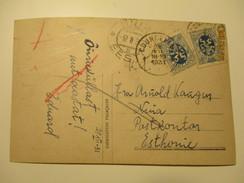COURSELLES TO ESTONIA    , OLD POSTCARD , RA - Belgium