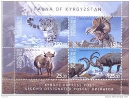 2014. Kyrgyzstan, Fauna Of Kyrgyzstan, S/s, Mint/** - Kyrgyzstan