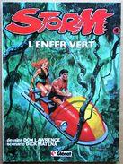 EO Glénat (1982) > DON LAWRENCE & Dick MATENA : STORM #4 - L'enfer Vert - Livres, BD, Revues