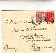 Windsor To Paris. Cover 1909 - Storia Postale