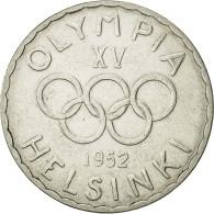 Finlande, 500 Markkaa, 1952, TTB+, Argent, KM:35 - Finlande