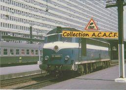 """CC 80001 Dite """"Belphégor"""", En Gare De Paris-Montparnasse (75) - - Stations With Trains"""