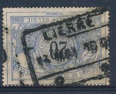 "BELGIE - OBP Nr TR 17 - Cachet  ""LIERRE"" - (ref. 17.703) - Chemins De Fer"