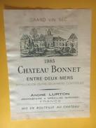6097 - Château Bonnet 1985 Entre-deux-Mers - Bordeaux