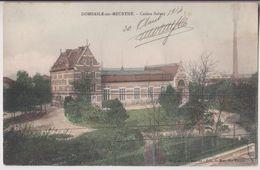 DOMBASLE SUR MEURTHE : CASINO SOLVAY - CHEMINEE D'USINE - 1914 - 2 SCANS - - Frankrijk