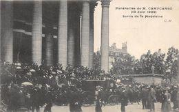 FUNERAILLES DE CHAUCHARD SORTIE DE LA MADELEINE - Funérailles