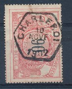 """BELGIE - OBP Nr TR 25 - Cachet Hexagonal  """"CHARLEROI"""" - (ref. 17.713) - Ferrocarril"""
