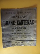 6106 - Château Brane-Cantenac 1979 Margaux - Bordeaux