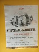 6115 - Château DuBreuil 1979 Haut-Médoc - Bordeaux