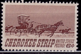 United States, 1968, Cherokee Strip, 6c, Sc#1360, MNH - Etats-Unis
