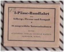 Z792 ARLBERG FLEXEN UND FERNPASS   Carnet De  16 Vues  7X 10.5 CM - Austria
