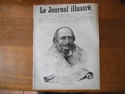 LE JOURNAL ILLUSTRE DU 17 OCTOBRE 1880 JACQUES OFFENBACH,L'INCENDIE DU PAVILLON DE FLORE,LE MONUMENT DU BOURGET - Kranten