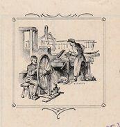 Facture 1925 / DELBART LECARNELLE / Charron / Ebenisterie / 59 Malincourt Par Walincourt / Nord - Frankrijk