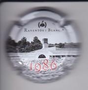PLACA DE CAVA RAVENTOS I BLANC 1986 NUMEROS GRANDES (CAPSULE) - Placas De Cava