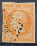 Stamp France Timbre 1853 40c Used Lot#41 - 1852 Louis-Napoléon
