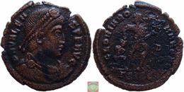 Roman Empire - AE3 Of Valens (364 - 378 AD), GLORIA ROMANORVM - 8. La Caduta Dell'Impero Romano (363 / 476)