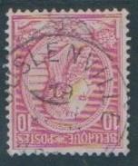 N° 46 - Juslenville - 1884-1891 Leopoldo II